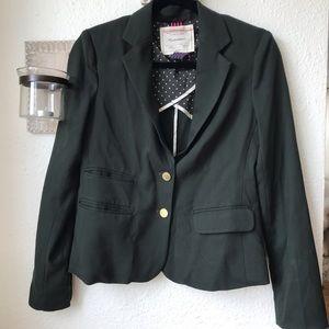 Anthropologie green blazer